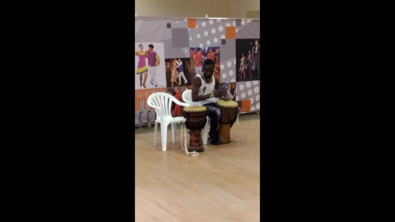 Thierry Deha, afro drums