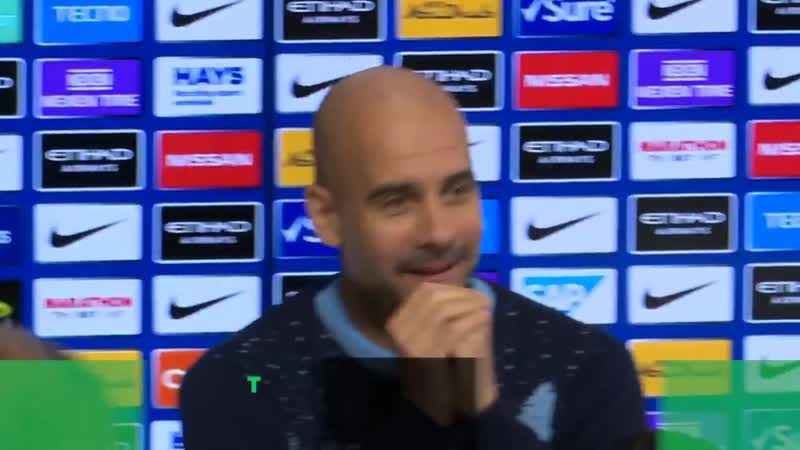 Guardiola impresses the media with Christmas jumper