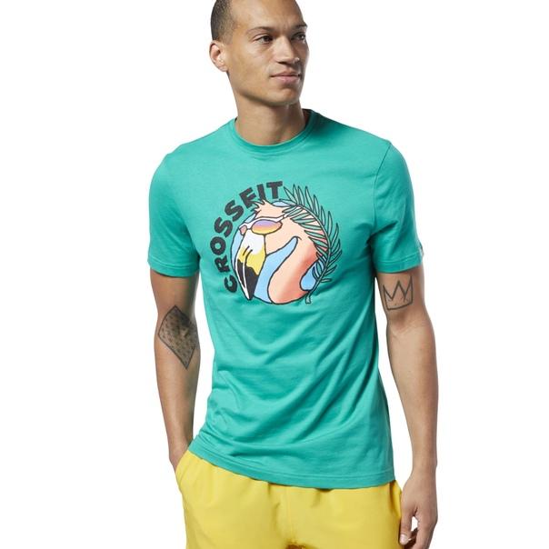 Спортивная футболка Reebok CrossFit® Funky Flamingo