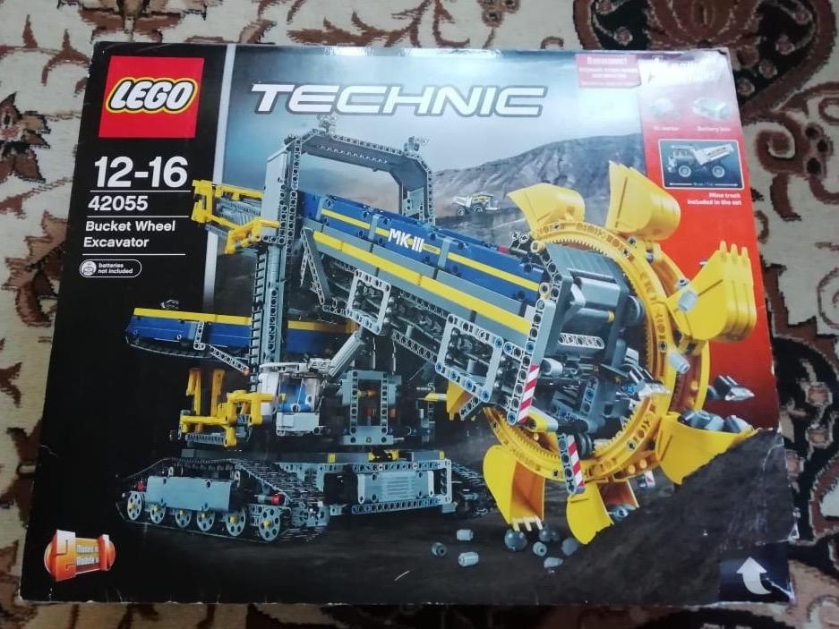 Лего Техник 42055 роторный экскаватор LEGO TECHNIC Набор аб