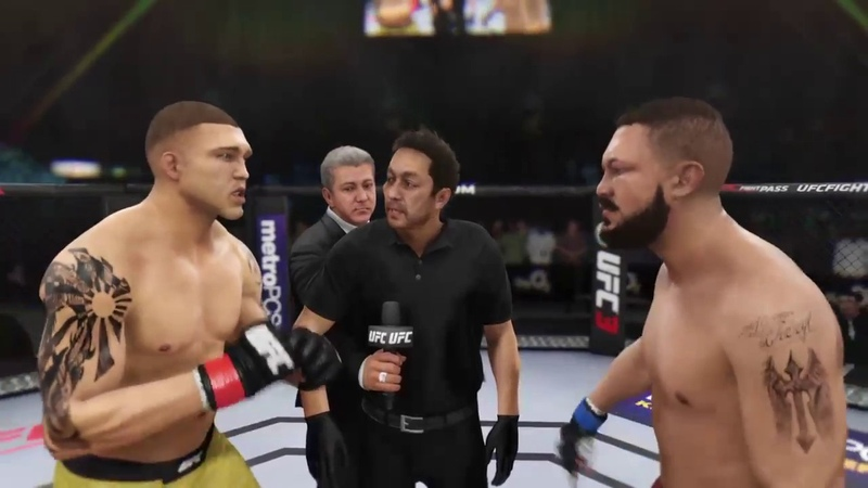 BOXING OLEKSANDR USYK VS TONY BELLEW UFC 3