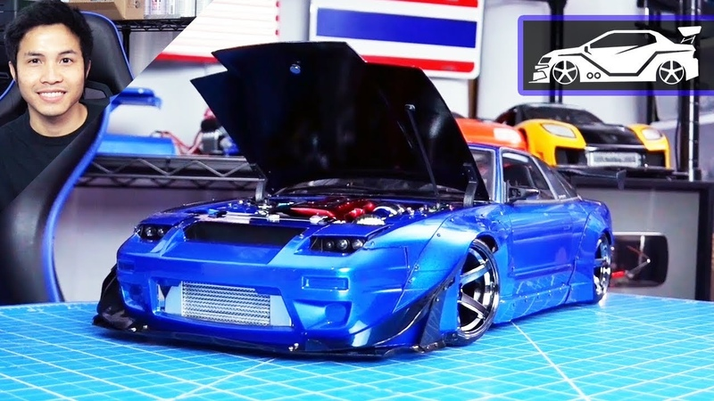 RC Modify 25 Part 2 | 180SX Rocket Bunny M-Drift 1 RWD 3D Printed