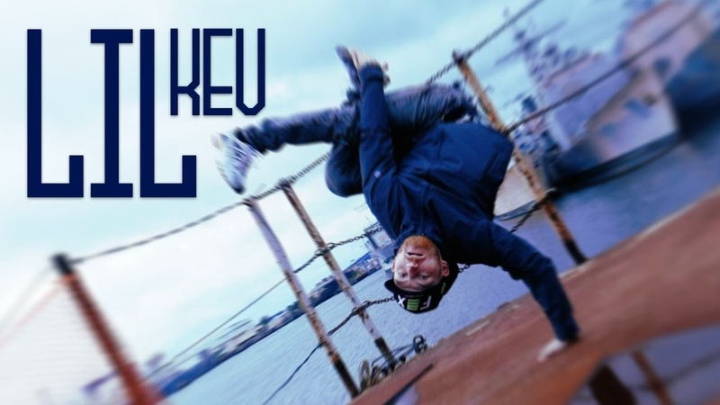 Bboy Lil Kev TrapHop Powermoves, Tricks at Philly Naval Yard | Gracy Hopkins x @yakfilms