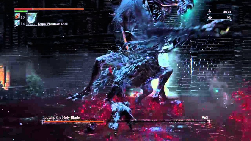 Bloodborne Ludwig the Accursed Holy Blade NG 7