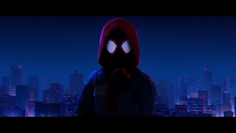 Spider Man Into The Spider Verse Miles Morales becomes Spider Man Clip