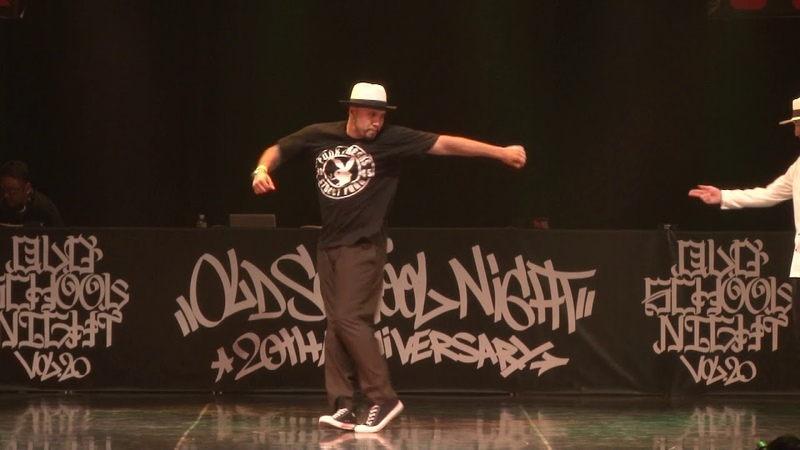 KID BOOGIE vs Firebac_OLD SCHOOL NIGHT VOL.20_POPPING 1on1 BATTLE BEST8