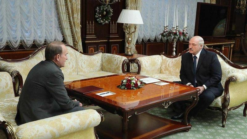 Александр Лукашенко встретился с украинским государственным деятелем Виктором Медведчуком