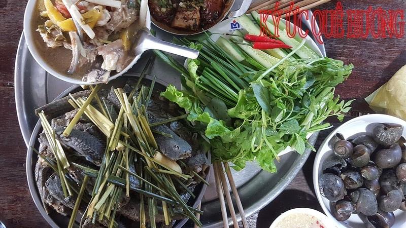 Cá lau kiếng luộc sả-Món ngon dân dã| KUQH