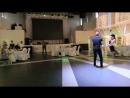 Необычный первый свадебный танец на полотнах, гости не ожидали