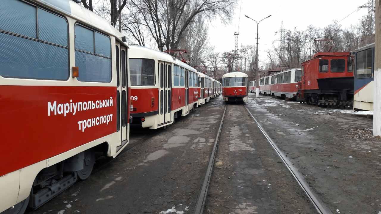 В Мариуполе разработали новый маршрут трамваев
