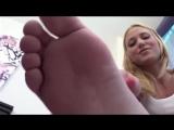 Giantess Blonde Feet POV