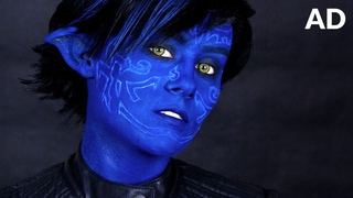 Nightcrawler (X-Men: Apocalypse) Makeup Tutorial