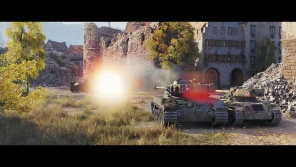World of Tanks Легенда ИС 7 Музыкальный клип от Perekhod