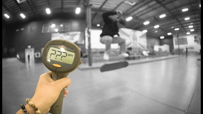 How Fast Can Emmanuel Guzman Fakie Flip