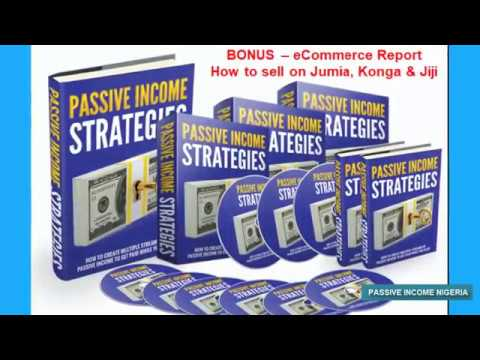 Passive Income Nigeria - Create Passive Income Streams In Nigeria - Retirement Business Nigeria