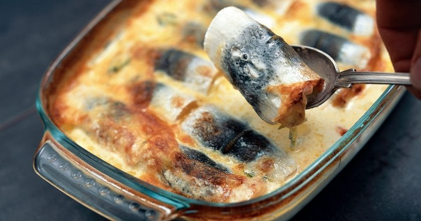 Калалаатикко - сельдь, запеченная с молоком и картофелем