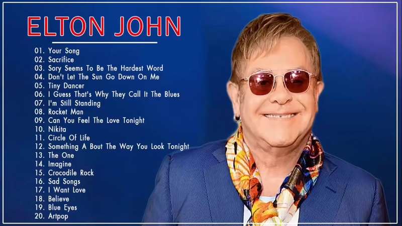 Elton John Grandes Exitos Elton John Sus Mejores Canciones Éxitos