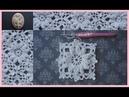 Crochet Lace Motif Crochet Flower in the Frame 1⃣