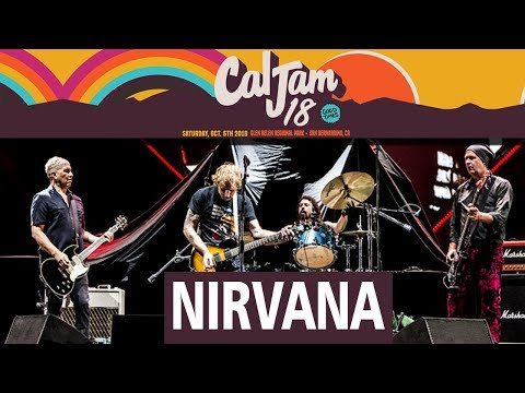Nirvana Reunion Cal Jam 2018 Full Show