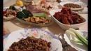 Турецкий ужин Суп из зеленой чечевицы с булгуром рисом Куру долма по турецки
