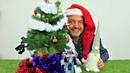 ¡Feliz Navidad ¡Megatron quiere romper el Árbol de Navidad