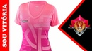 Topper lança camisa do Vitória em homenagem ao Outubro Rosa