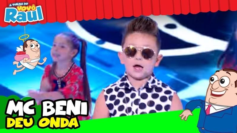 MC BENI CANTA DEU ONDA (PROGRAMA RAUL GIL)