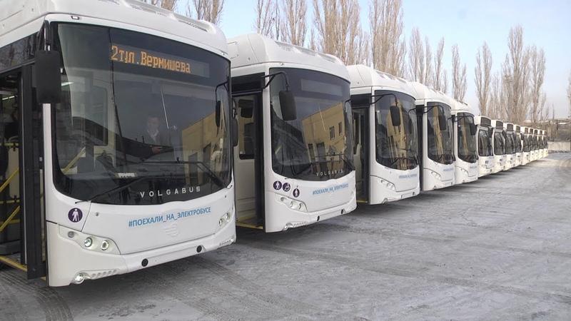 Электроавтобусы в Липецке