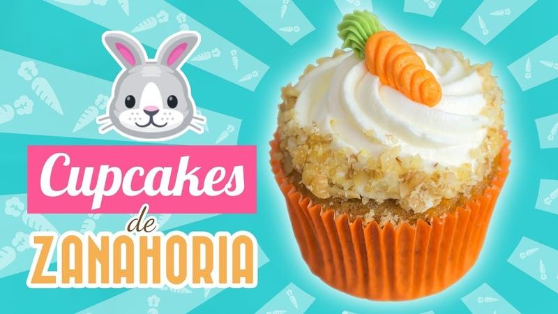 CUPCAKES DE ZANAHORIA | CARROT CUPCAKES | Quiero Cupcakes!