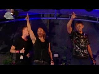 John Christian - Flight 643 played by David Guetta, Afrojack and Nicky Romero @ Tomorrowland