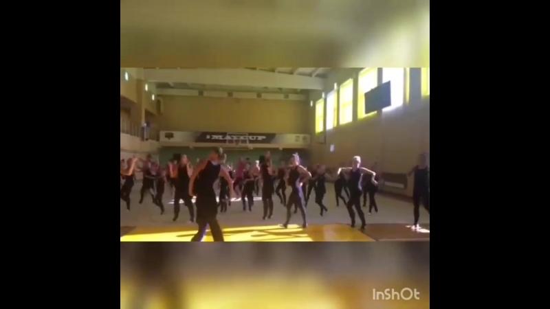 Мастер-класс по эстетической гимнастике команды «Мадонна»