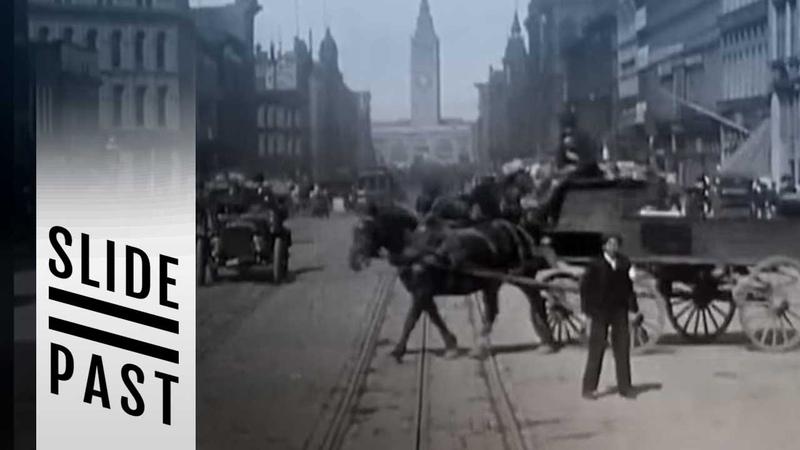 A Trip Down Market Street - California 1906