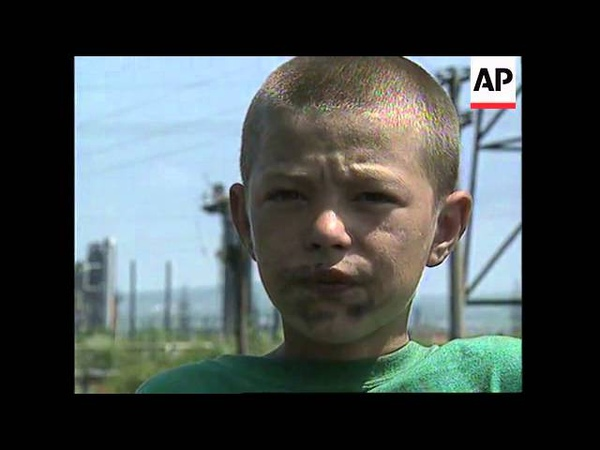 CHECHNYA: GROZNY: CHILDREN LEFT ORPHANS IN AFTERMATH OF WAR