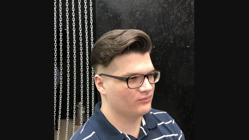Прокачали парня конкретно в BARBERSHOP163 мужская парикмахерская Тольятти