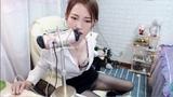 [MOMO丶桃桃办卡 VIP] 桃桃 黑丝女教师私人定制 舔耳哄睡 Chinese ASMR, Ear Licking, Ear Eating HD