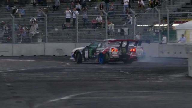 FIA世界ドリフト大会で川畑真人が優勝R35 GT-R TOYO TIRES TRUST Intercontinental Drifting Cup in Tokyo Japan お台場 ドリフト