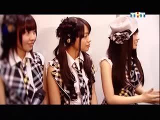 AKB48 на фестивале японской поп-культуры в Москве 20.11.2010
