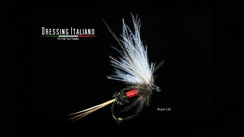 Dressing mosca ROYAL CdC by Dressing Italiano - Fly Tying Italy