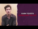 glblctzn : We love you too, ShawnMendes! ❤️ Earn free tickets to see Shawn at Global Citizen Festival in Central Park