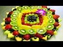 Красивая нарезка овощей и фруктов, фото красивой праздничной нарезки на стол