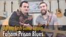 Johnny Cash Folsom Prison Blues | Rhythm Guitar Solo Lesson | Feat. Skip Robinson