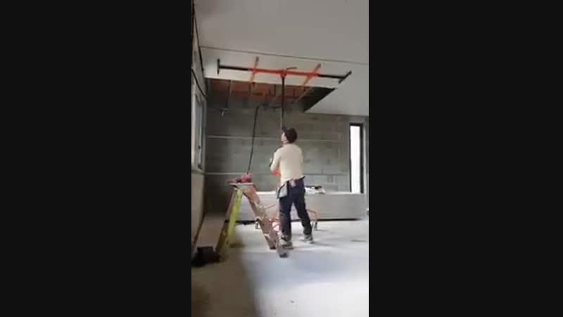 Инвентарная подпорка для монтажа подвесного потолка