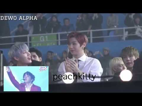 Wanna One Reaction to BTS (Fake Love IDOL) @ Asia Artist Awards 2018