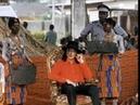 Michael Jackson Coronation - King of the Sanwi's in Krinjabo, Africa 1992
