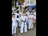 Показательные выступления Кёкусинкай Каратэ г.Кострома 02.09.2018