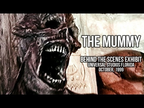 The Mummy: Behind the Scenes Exhibit at Universal Studios Florida Stage 54 | 1999