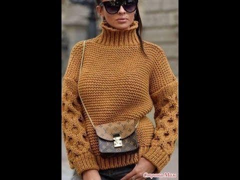 Стильный Свитер Спицами - 2019 Stylish Knitting Sweater Stylischer Strickpullover