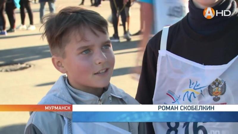 Сюжет Арктик-ТВ о Кроссе Нации-2018