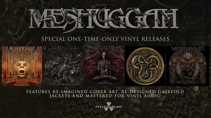 MESHUGGAH Special Vinyl Releases Remastered Reimagined OFFICIAL TRAILER