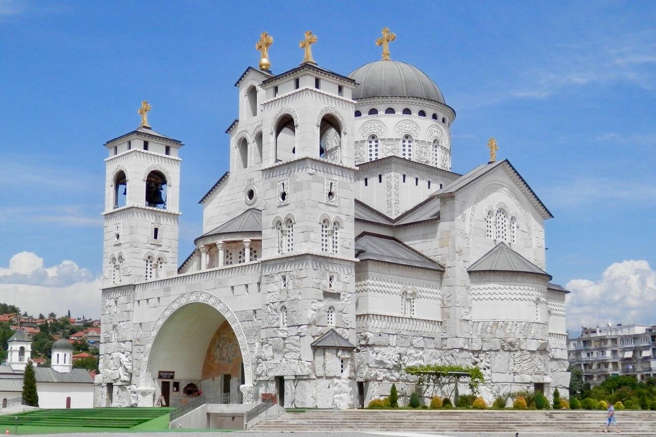 Собор Воскресения Христова в Подгорице закончен строительством в 2013 году